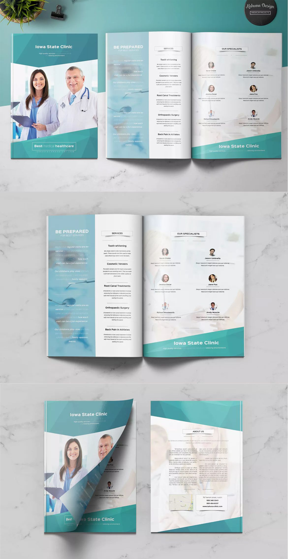 005 Archaicawful Indesign A4 Brochure Template Free Download High Definition Full