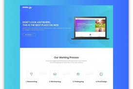 005 Archaicawful Lifetracker Free Responsive Bootstrap App Landing Page Template Picture
