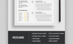 005 Archaicawful Photoshop Resume Template Free Psd Sample
