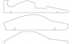 005 Archaicawful Pinewood Derby Car Design Template Highest Clarity  Fast Wedge