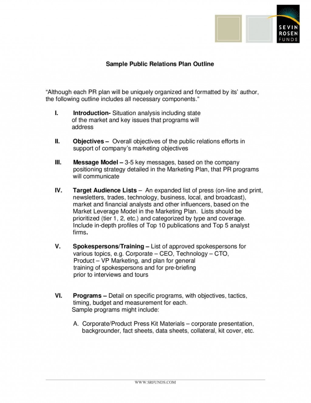 005 Archaicawful Public Relation Busines Plan Example High Resolution  Examples SampleLarge