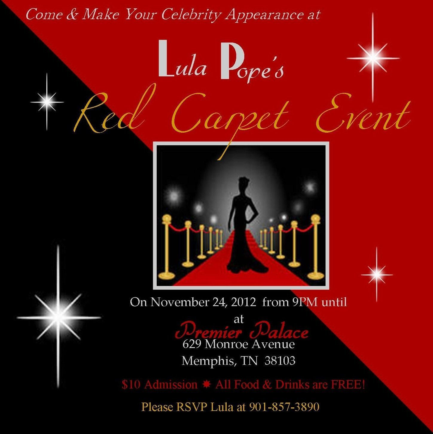 005 Archaicawful Red Carpet Invitation Template Free Highest Clarity  DownloadFull