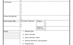 005 Archaicawful Sale Call Report Template Highest Clarity  Free Weekly Excel Pdf