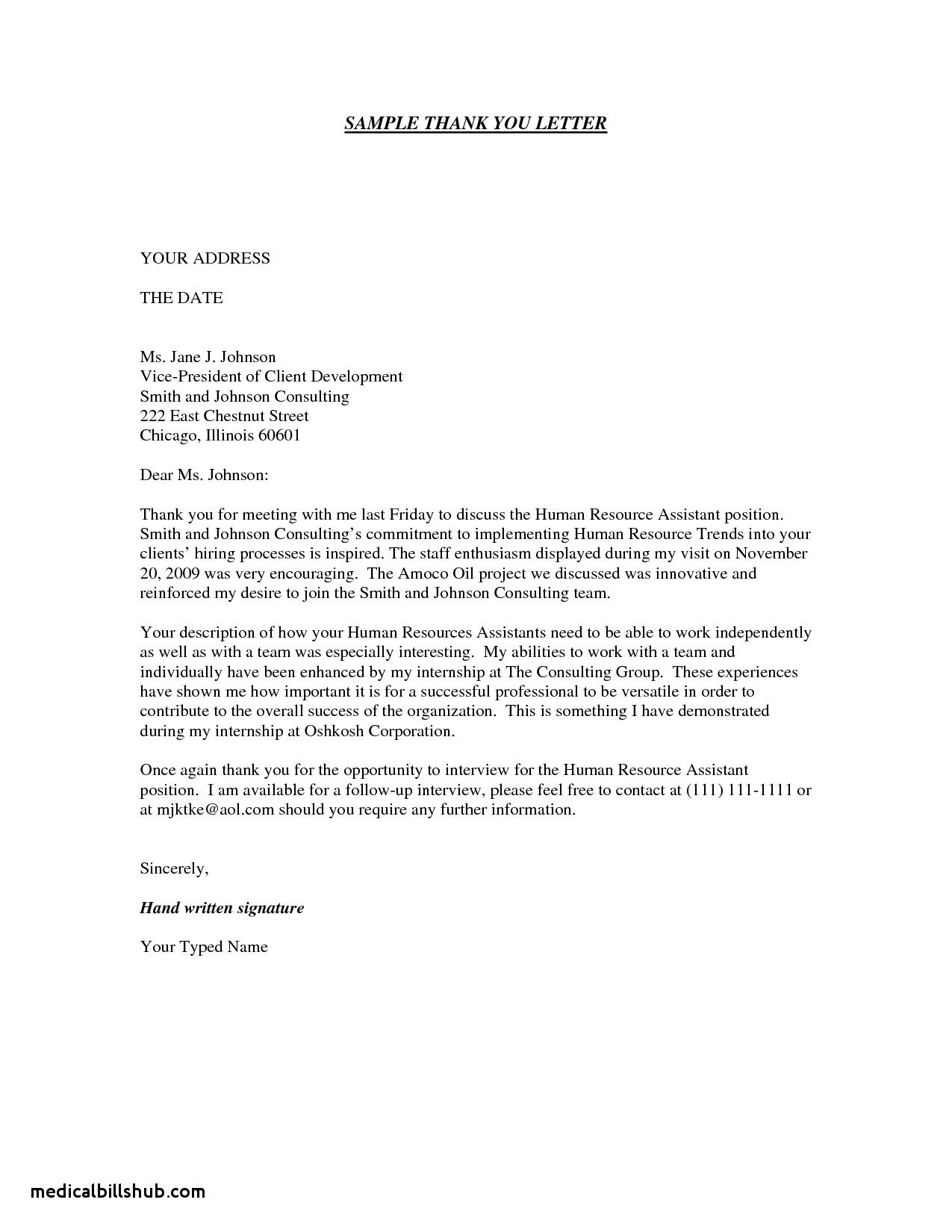 005 Archaicawful Thank You Note Template Medical School Interview Concept  Letter SampleFull