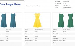 005 Archaicawful Wholesale Line Sheet Template Example  Fashion Free Excel