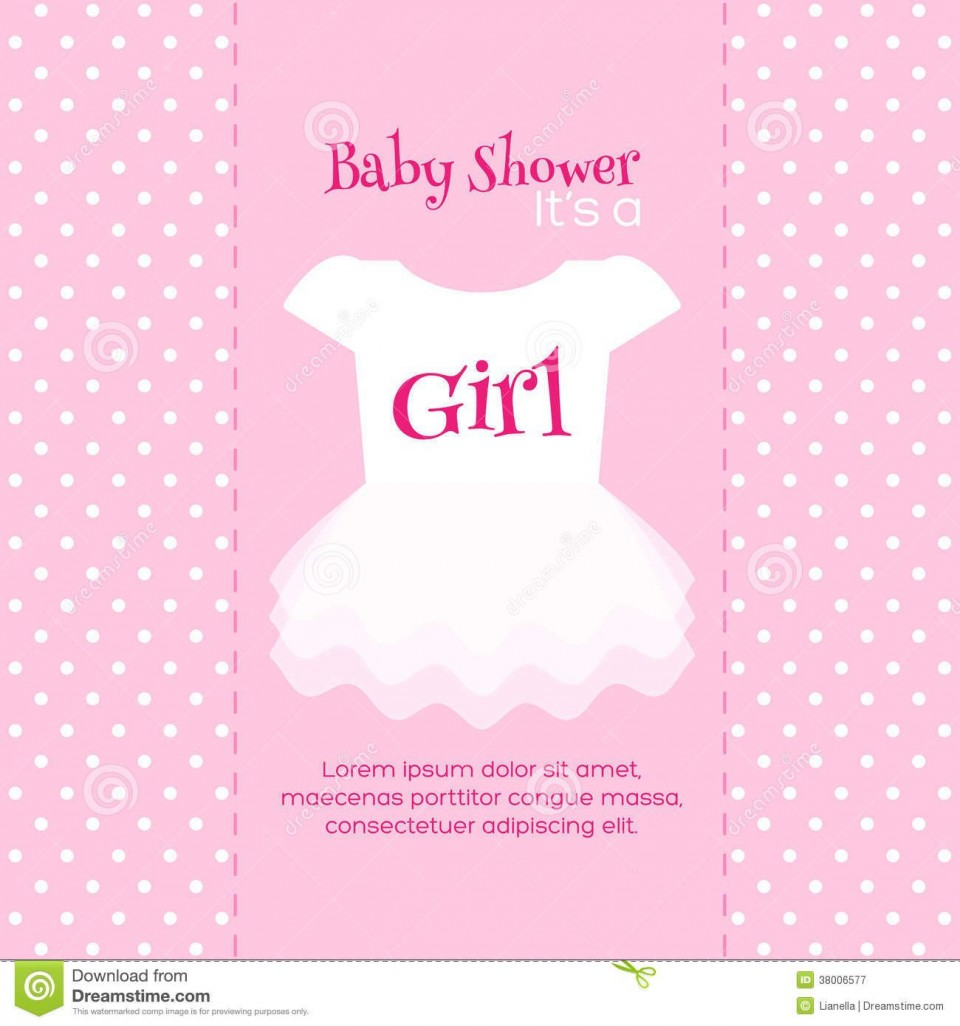 005 Astounding Baby Shower Invitation Card Template Free Download Concept  Indian960