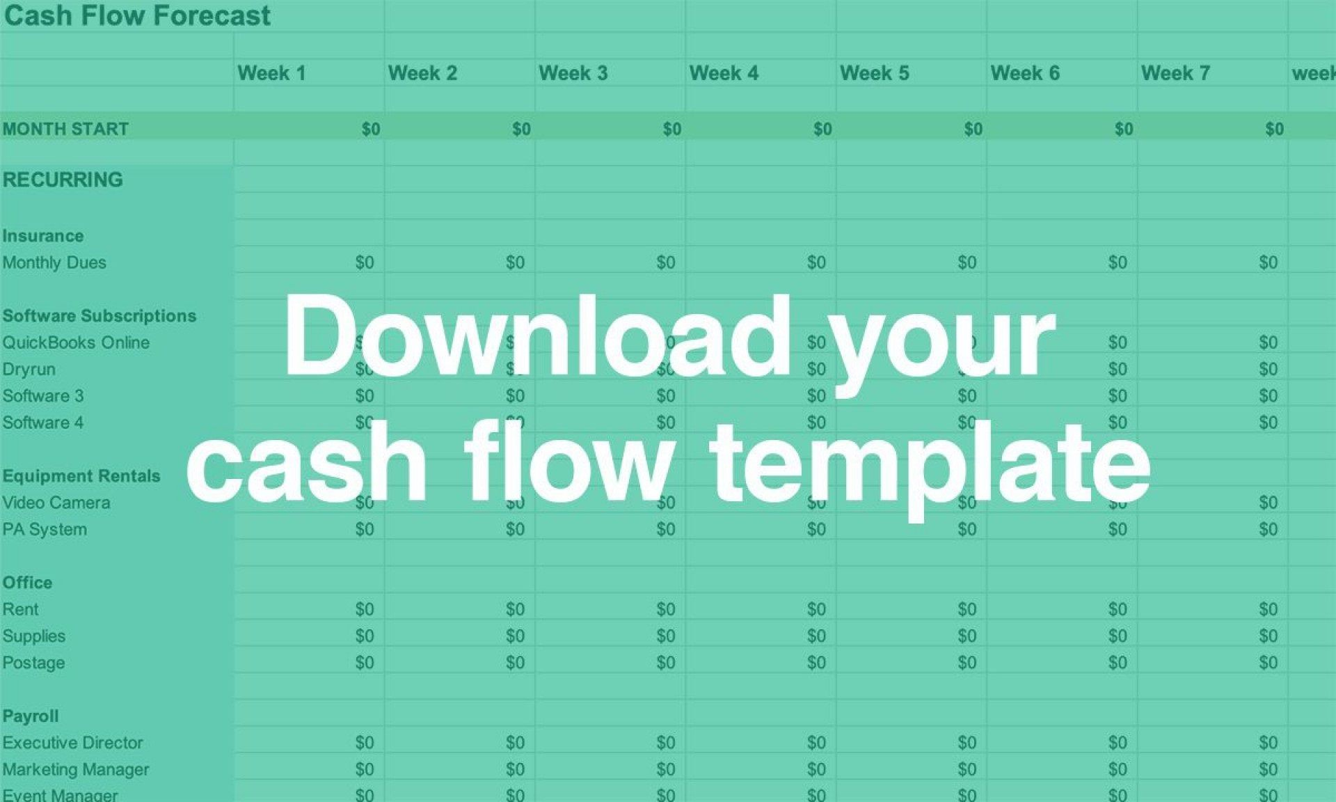 005 Astounding Cash Flow Template Excel Free Photo  Statement Download Format In1920