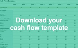 005 Astounding Cash Flow Template Excel Free Photo  Statement Download Monthly Forecast Personal