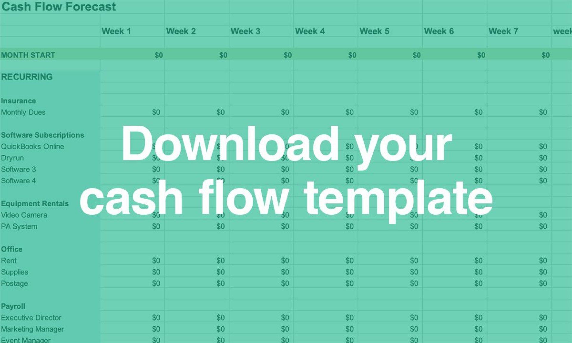 005 Astounding Cash Flow Template Excel Free Photo  Statement Download Format InFull