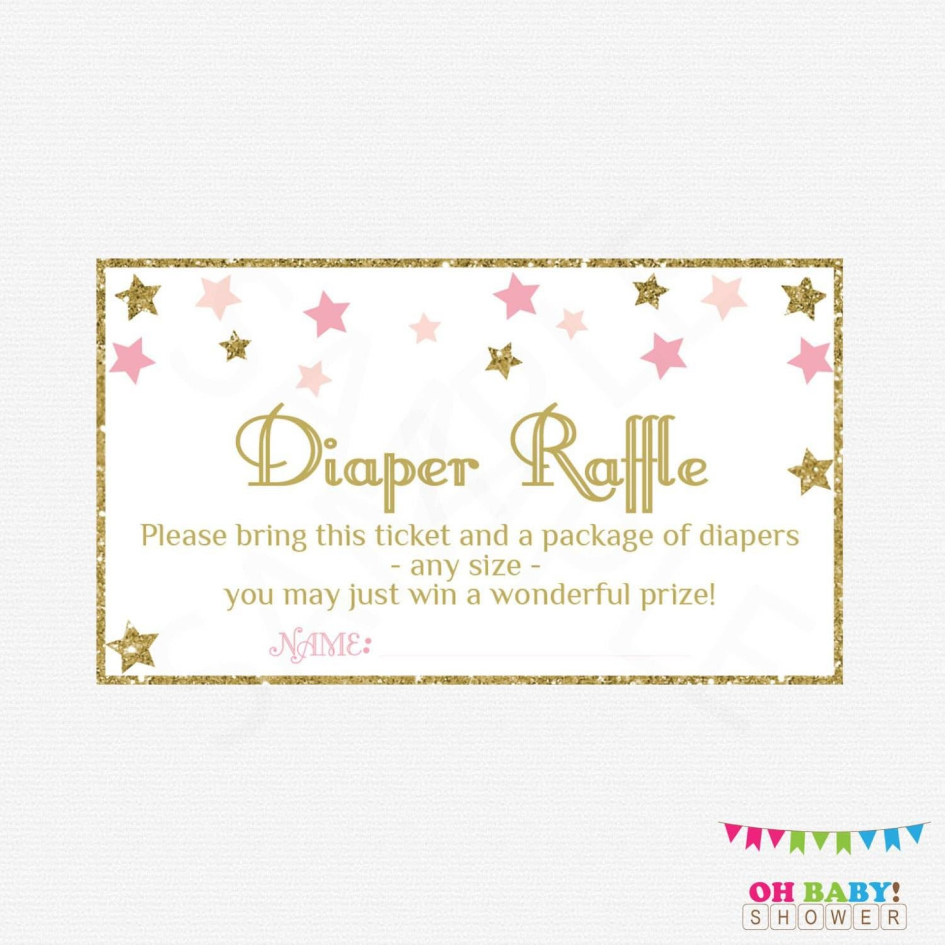 005 Astounding Diaper Raffle Ticket Template Highest Quality  Free Printable Download1920