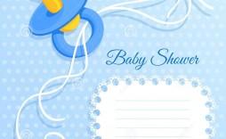 005 Astounding Free Printable Baby Shower Card For Boy Concept  Bingo