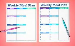 005 Astounding Free Printable Weekly Meal Plan Template Inspiration  Planning Worksheet