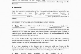 005 Astounding Generic Rental Lease Agreement Md Design  Sample Maryland