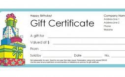 005 Astounding Gift Certificate Template Pdf Design  Massage Christma Printable