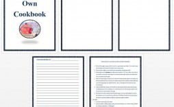 005 Astounding Make Your Own Cookbook Template Free High Def  Download