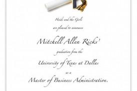 005 Astounding Microsoft Word Graduation Invitation Template Example  Party