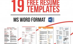 005 Astounding Microsoft Word Template Download Sample  Office Resume Free 2007