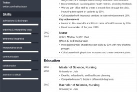 005 Astounding New Grad Nursing Resume Template Sample  Graduate Nurse Practitioner