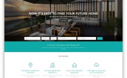 005 Astounding Real Estate Agent Website Template Concept  Templates Agency Responsive Free Download Company Web