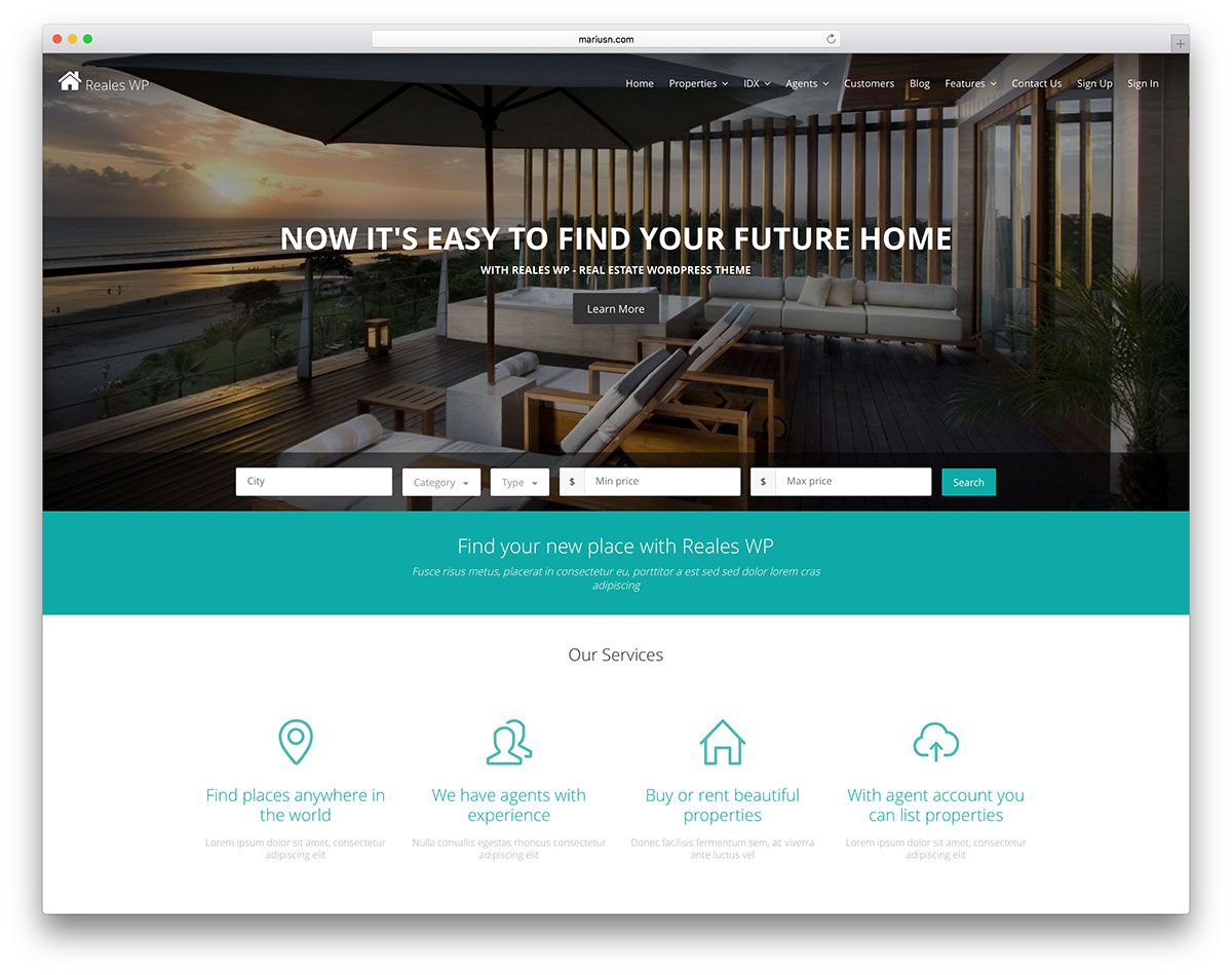 005 Astounding Real Estate Agent Website Template Concept  Templates Agency Responsive Free Download Company WebFull