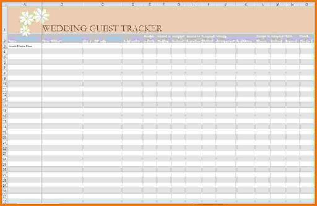 005 Astounding Rsvp Guest List Template Excel Inspiration Large