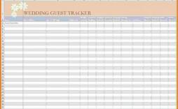 005 Astounding Rsvp Guest List Template Excel Inspiration