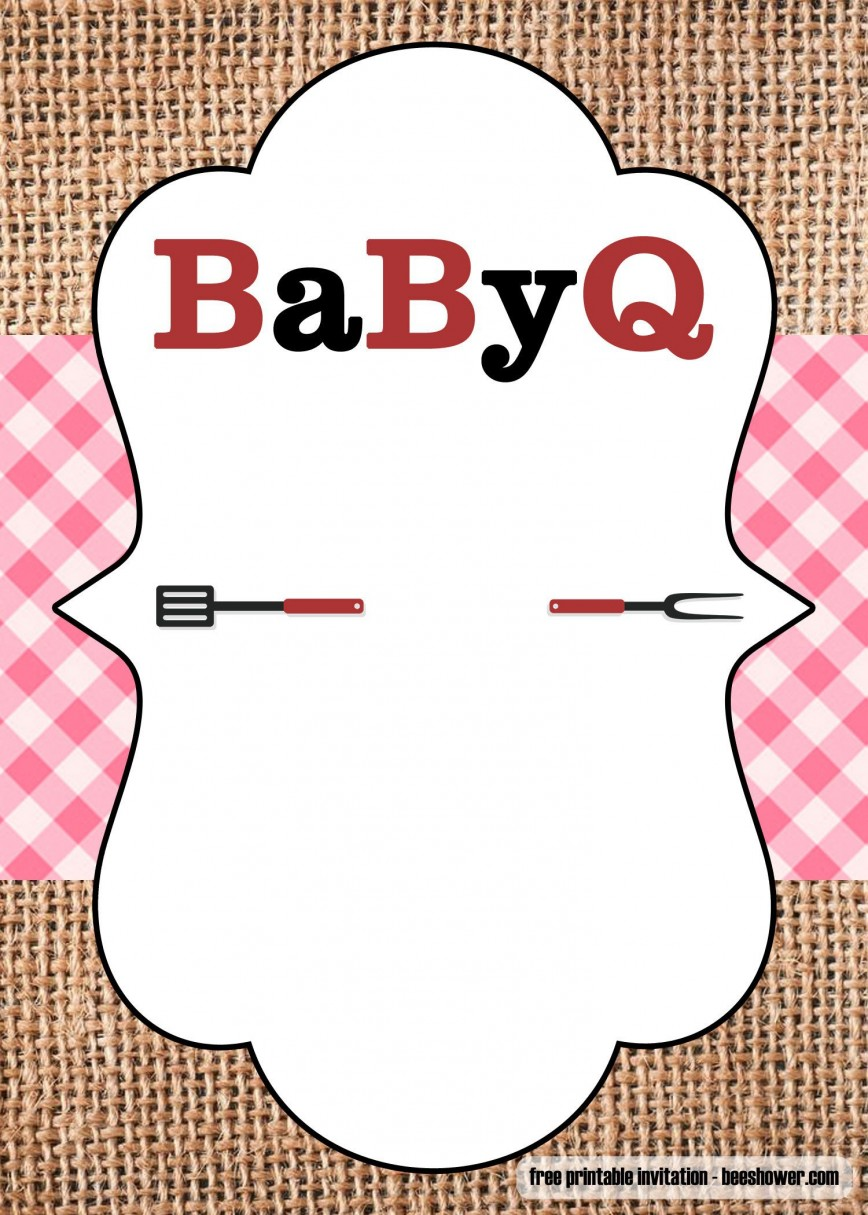 005 Awesome Baby Shower Template Free Printable Picture  Invitation For A Girl Online Banner