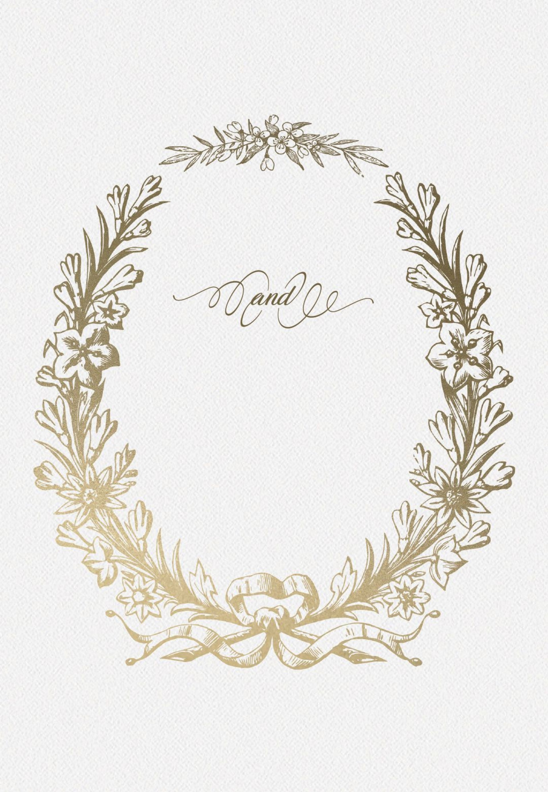 Blank Wedding Invitation Templates Addictionary
