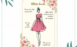 005 Awesome Bridal Shower Card Template High Resolution  Invitation Free Download Bingo