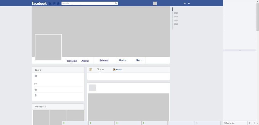 005 Awesome Fake Facebook Page Template High Definition  Busines Microsoft Word Create ALarge