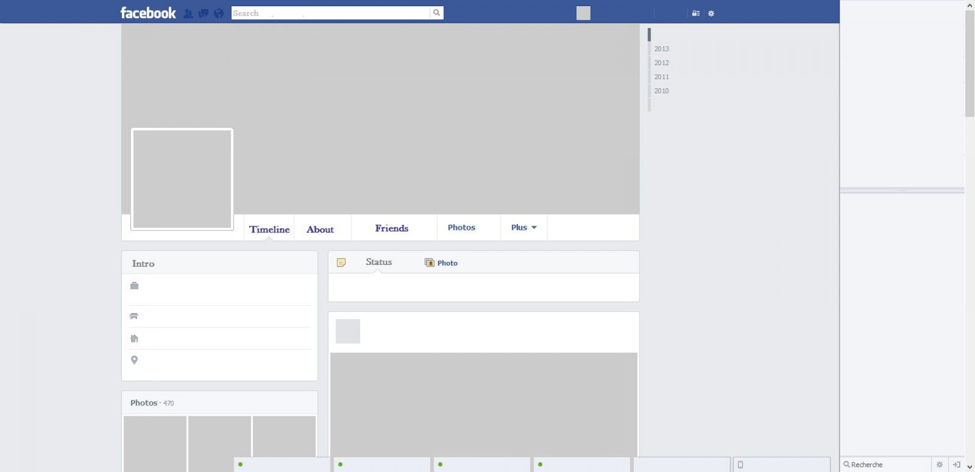 005 Awesome Fake Facebook Page Template High Definition  Busines Microsoft Word Create A1920