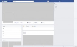 005 Awesome Fake Facebook Page Template High Definition  Busines Microsoft Word Create A