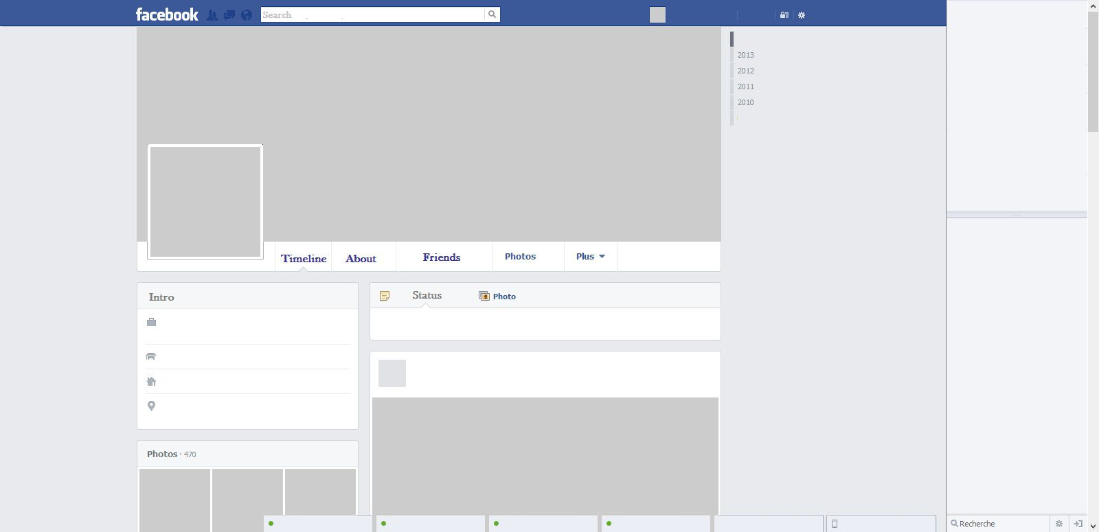 005 Awesome Fake Facebook Page Template High Definition  Busines Microsoft Word Create AFull
