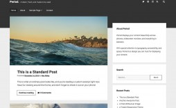 005 Awesome Free Blog Template Wordpres Highest Clarity  Wordpress Best Travel Theme Food 2020