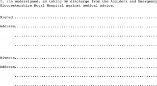 005 Awesome Free Hospital Discharge Form Template High Def 320
