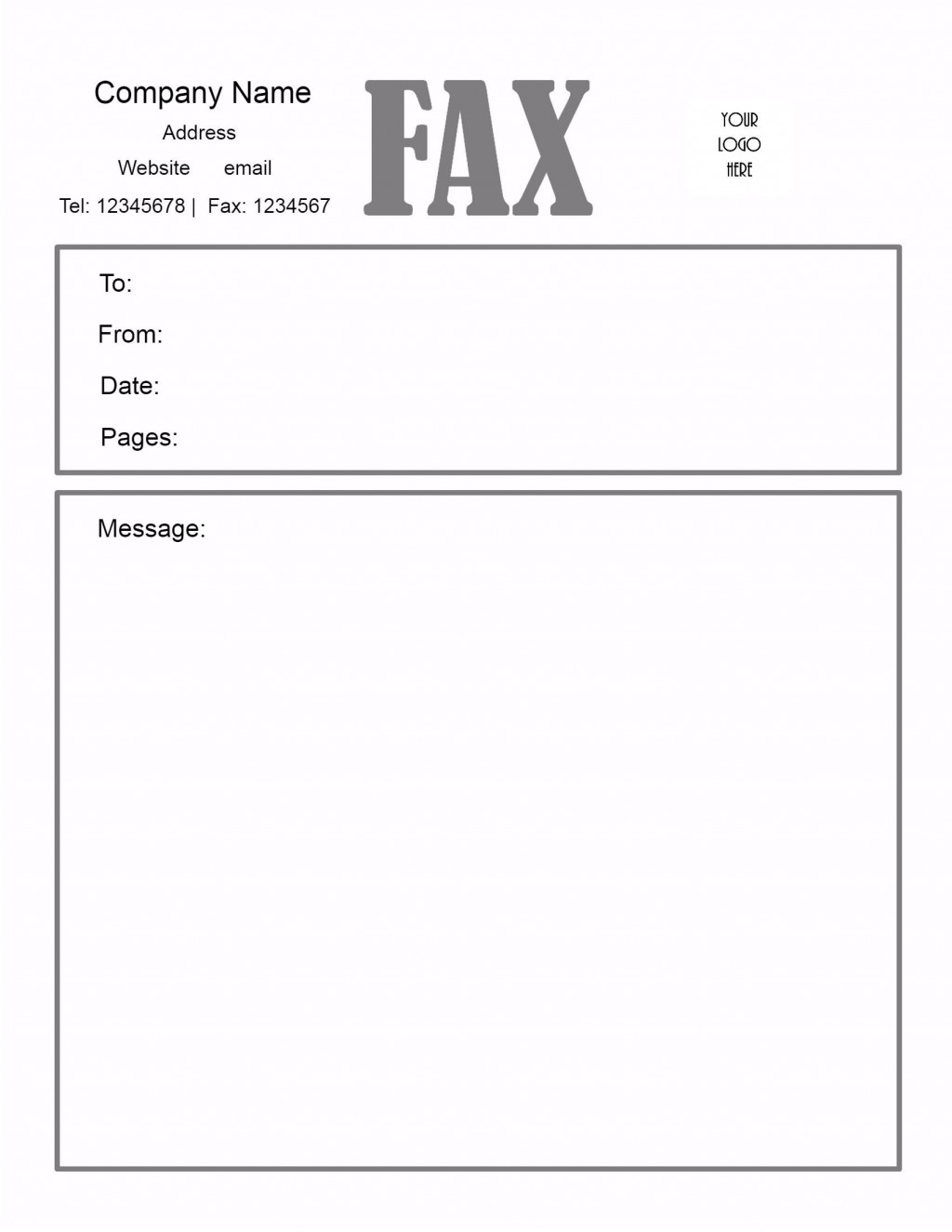 005 Awesome General Fax Cover Letter Template Inspiration  Sheet Word Confidential ExampleLarge