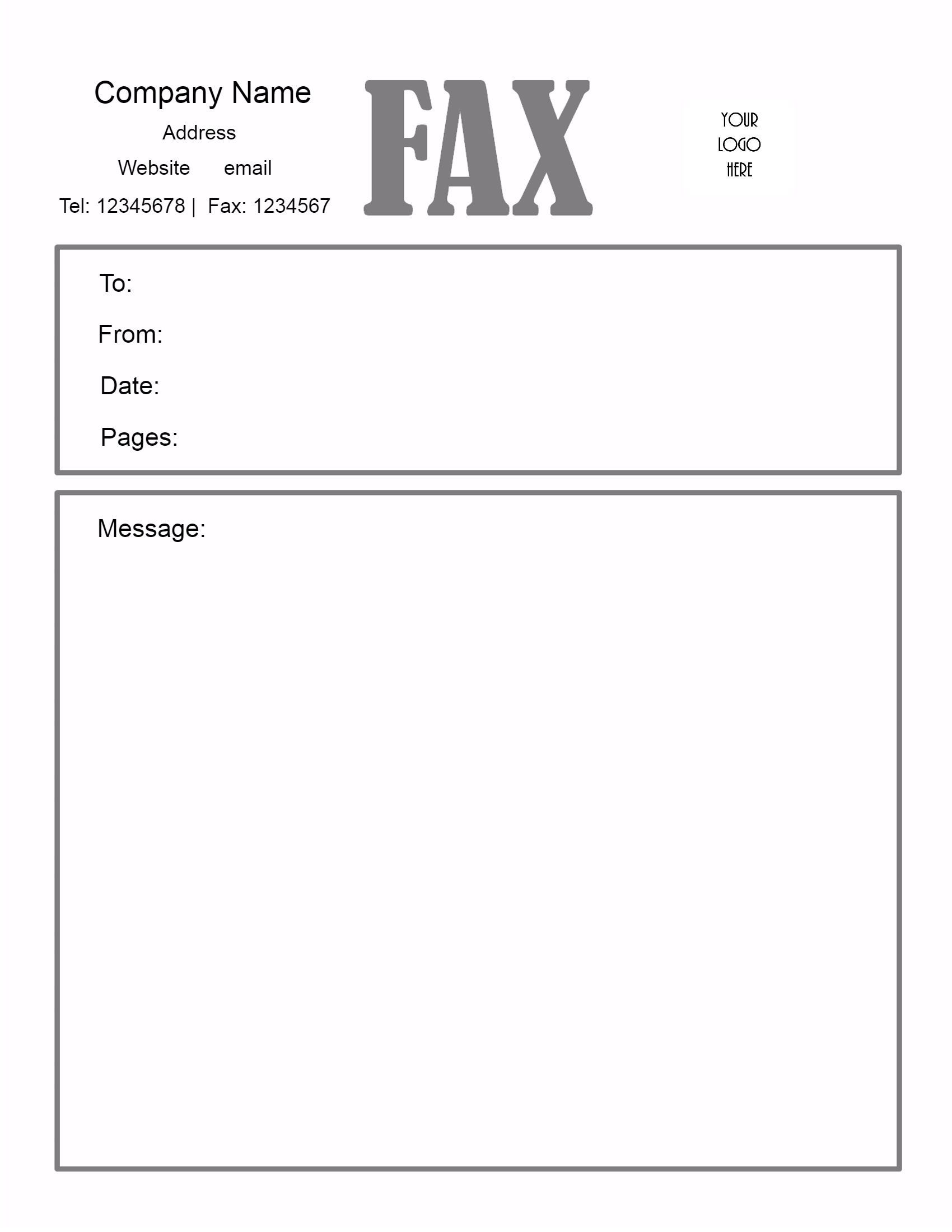 005 Awesome General Fax Cover Letter Template Inspiration  Sheet Word Confidential ExampleFull