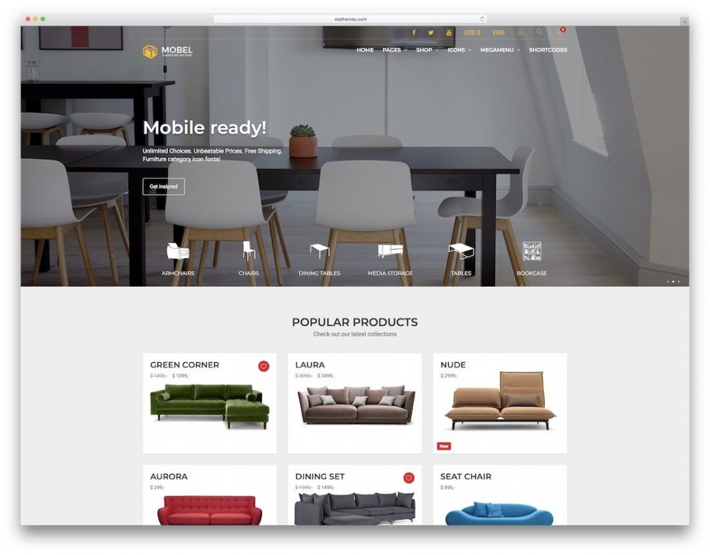 005 Awesome Interior Design Html Template Free Download High Definition Large