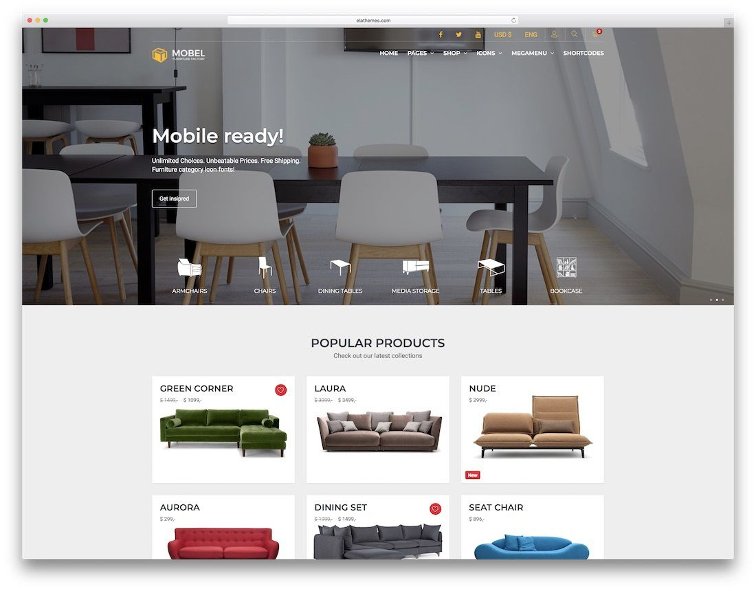 005 Awesome Interior Design Html Template Free Download High Definition Full