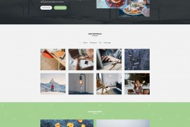 005 Awesome One Page Website Template Html5 Free Download Highest Clarity  Parallax