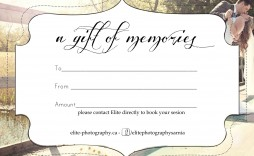 005 Awesome Photography Gift Certificate Template Photoshop Free High Resolution