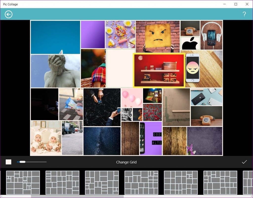 005 Awesome Picture Collage Maker Template Free Download  PhotoLarge