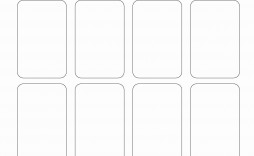 005 Awesome Playing Card Template Word Doc Idea  Document