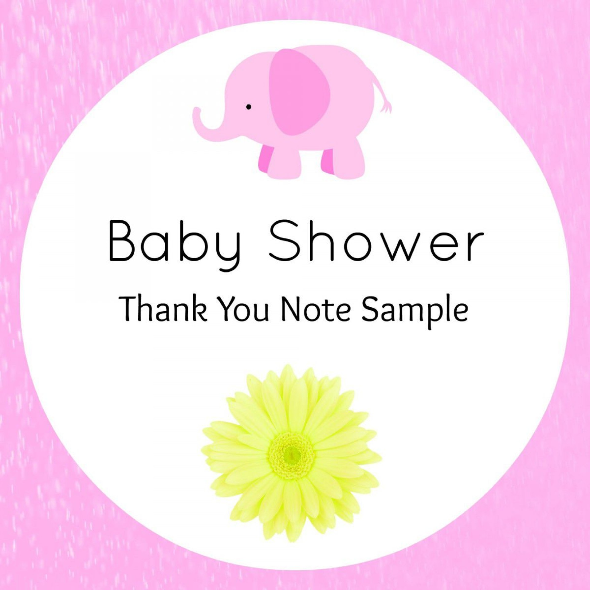 005 Awesome Thank You Note Template Baby Shower Sample  Card Free For Letter Gift1920