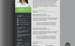 005 Awesome Word Resume Template Free Download Highest Quality  Creative Curriculum Vitae Cv Microsoft 2007