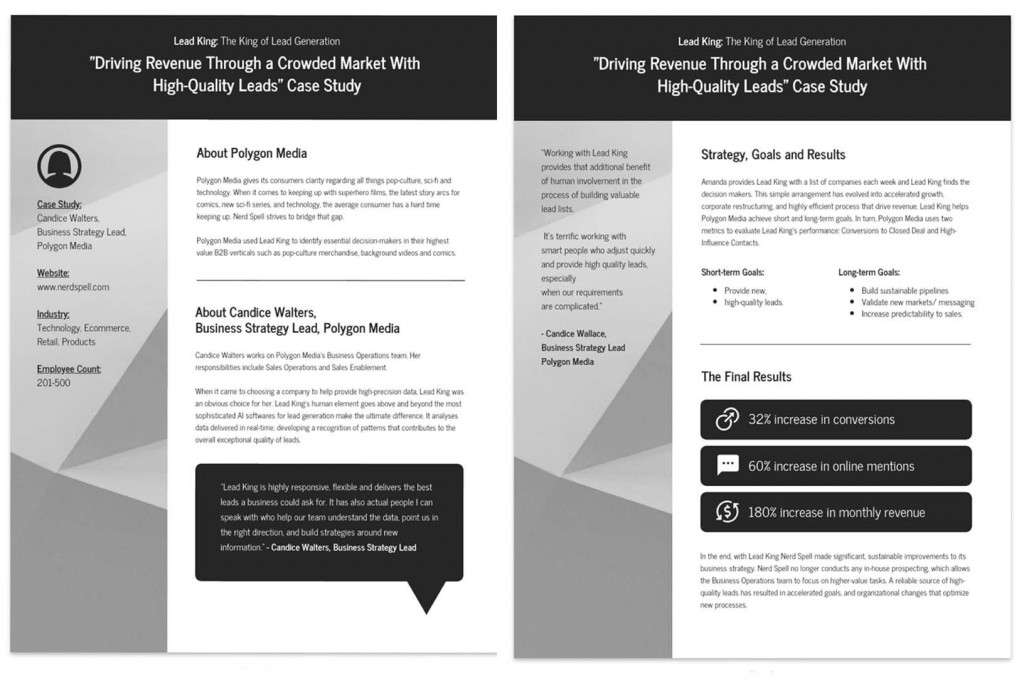005 Awful Busines Case Study Template Highest Quality  One Page Download PptLarge