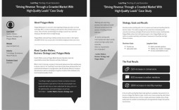 005 Awful Busines Case Study Template Highest Quality  One Page Download Ppt