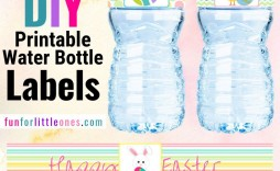 005 Awful Diy Water Bottle Label Template Free High Def