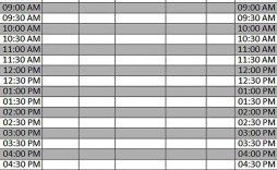 005 Awful Excel Weekly Timetable Template Highest Quality  Planner 2020 Meal 2019