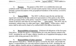 005 Awful Memorandum Of Agreement Template Photo  Templates Sample Tagalog South Africa Philippine Doc